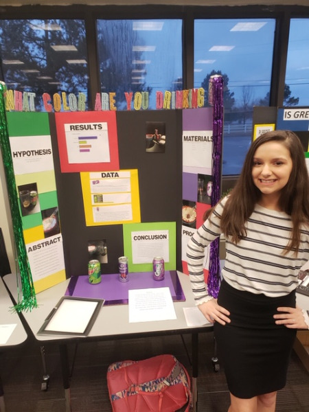 Hilldale Public Schools - Middle School Science Fair Results