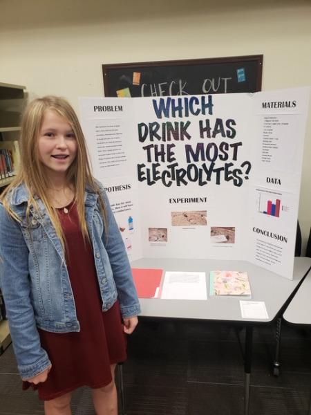 Hilldale Public Schools - Middle School Science Fair Results