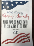 Veteran's Day Flyer