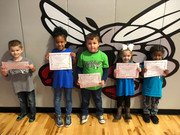 Pre-K Hornets of the Month